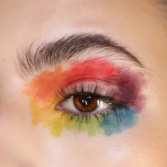 Wonderful Totally Free Creative Makeup Abstract Ideas