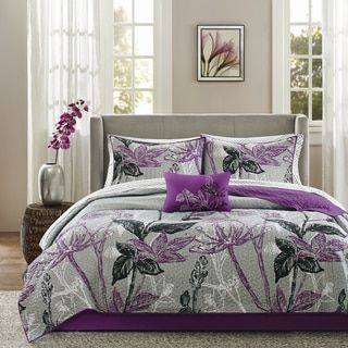 Shop for Madison Park Essentials Nicolette Purple Complete Coverlet and Sheet Set. Get free shipping at Overstock.com - Your Online Fashion Bedding Outlet Store! Get 5% in rewards with Club O!