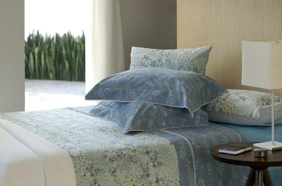 Monet - Percal confort 200 fios 100% algodão - fio penteado - acabamento com renda guipure Jogo de cama com dobra feita.