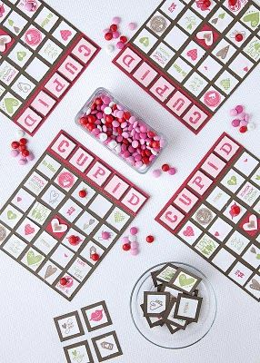 valentine's day bingo template