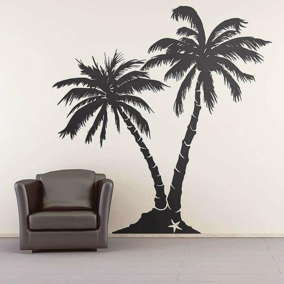 Amazing Wandtattoos Baum Wohnideen Wohnzimmer Weißes Sofa Beige Wand   Pinterest    Wands, Dekoration And Sofas