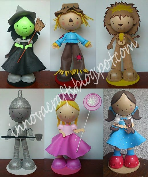 Fofuchas Wizard of Oz