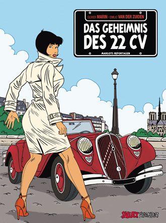 """L'édition allemande de la """"Traction 22"""" est désormais disponible avec une couverture inédite ! Avis à nos amis allemands mais aussi collect..."""