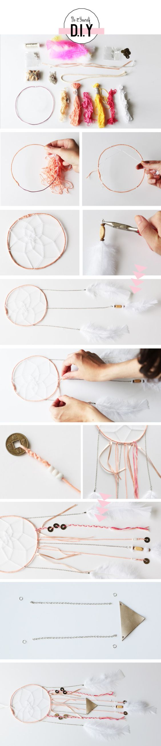 Diy attrape reve dream catcher pinterest diy and crafts dream catchers and catcher - Diy attrape reve ...