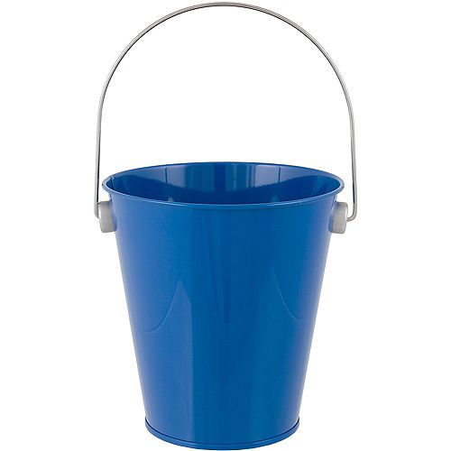 Royal Blue Metal Favor Pail 4 1 4in X 4 1 2in Blue Candy Buffet Blue Candy Candy Buffet Supplies