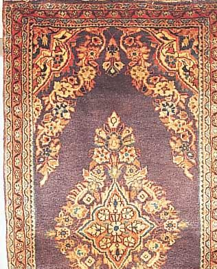Sarogh, Persien, 135 x 64cm, , EHZ 3 Flor Wolle, ca.30 Jahre