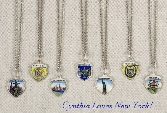 Cynthia loves New York,  now available at Artist and Fleas in Chelsea Market