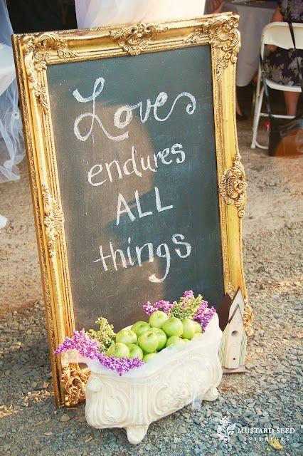 Love endures...More blackboards