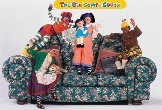 The Big Comfy Couch | 16 Canadian TV Shows That Totally Shaped Your Childhood