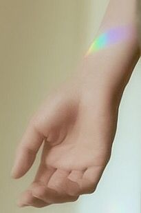 Prism reflection tattoo