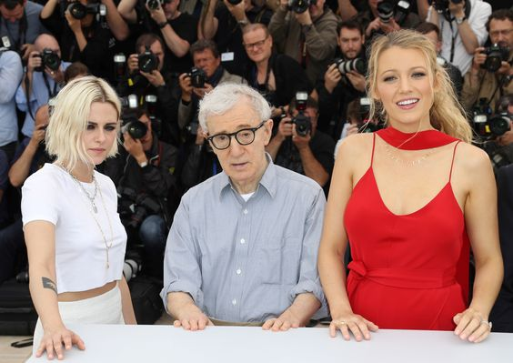 Kristen Stewart, Blake Lively and Woody Allen in Cannes - Café Society Photocall