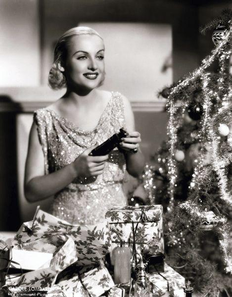 Carole Lombard - Christmas 1930s: