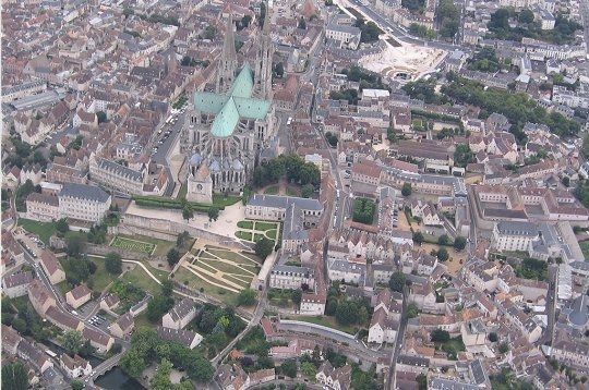 Chartres, Centre