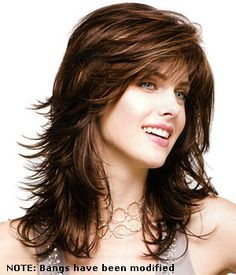 feather hair cuts for thick hair - Google Search