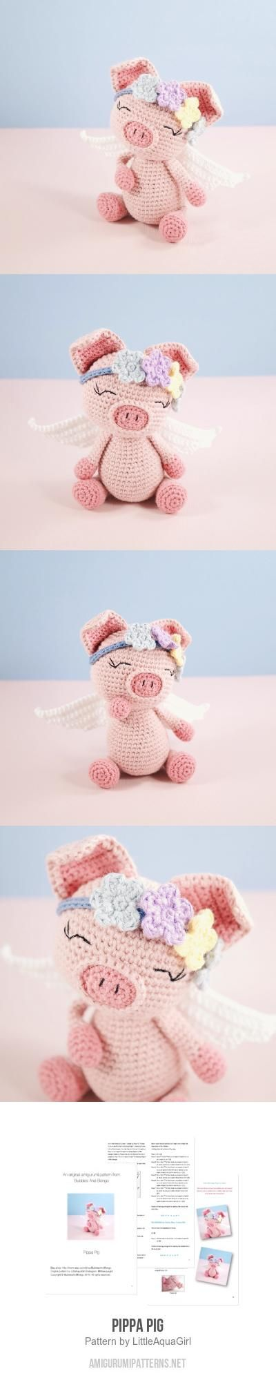 Pippa Pig Amigurumi Pattern: