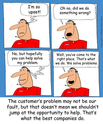 solving customer service problems Solve customer problems and make more sales  successful salespeople consistently solve customer problems they recognize that no product or service.