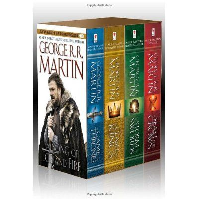 George R.R. Martin's A Game of Thrones Boxed Set of 4 - WOULD LOVE TO HAVE THIS