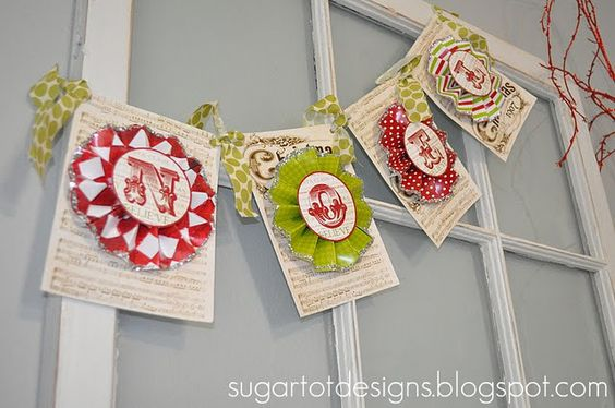super cute banner... could easily customize for any occasion