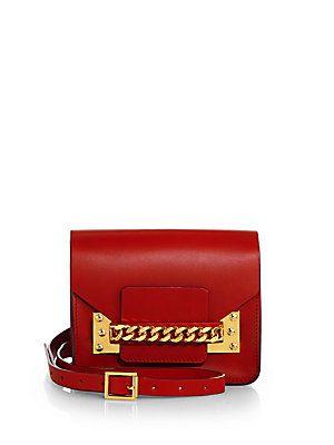 Sophie Hulme Chain Mini Envelope Shoulder Bag $515