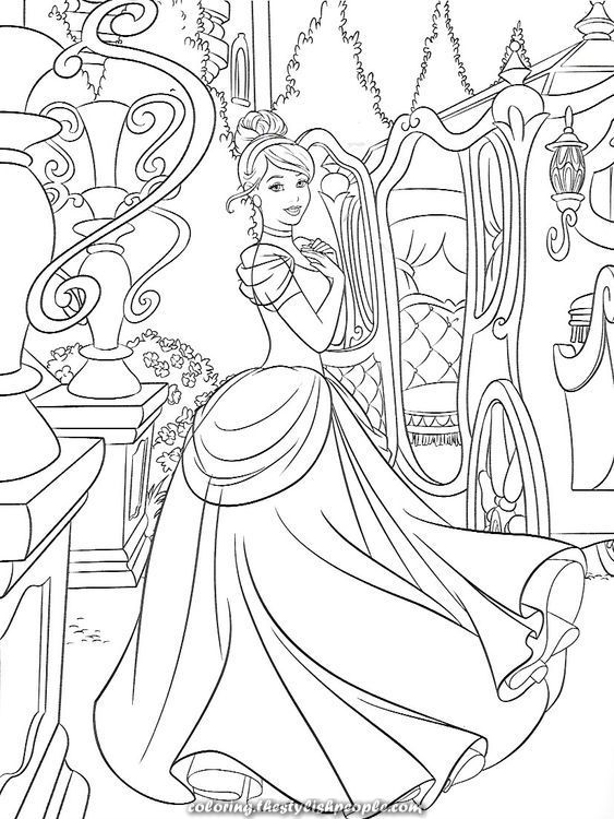 The Best Cinderella Disney Coloring Web Page Cinderella Coloring Pages Disney Princess Coloring Pages Princess Coloring Pages