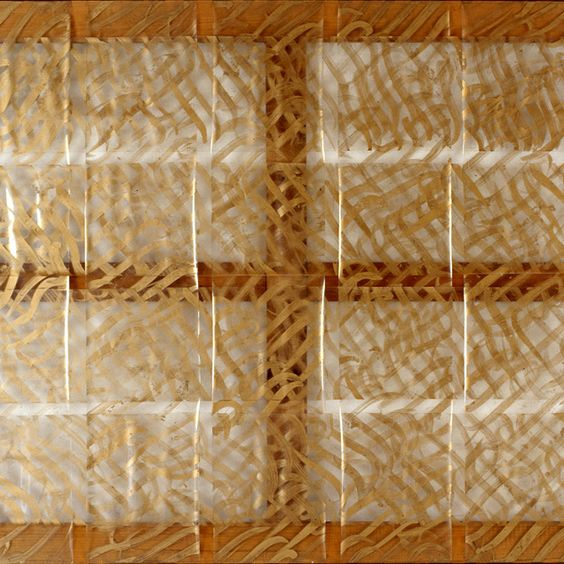 Carla Accardi, Grande oro (dettaglio),1967-76: