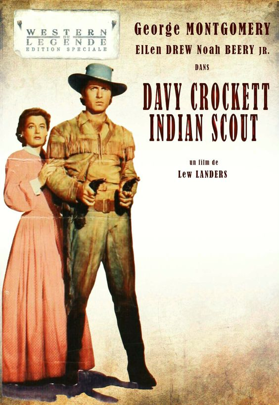 Davy Crockett Indian Scout HD Details
