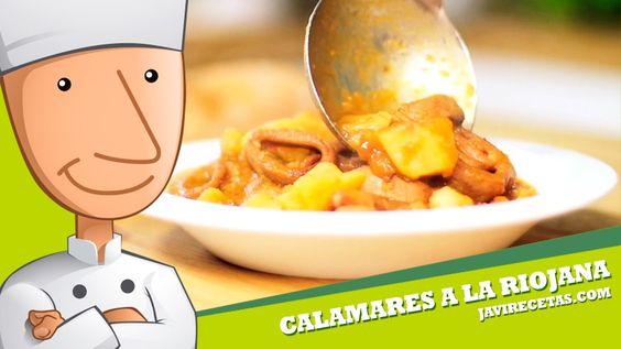 Calamares a la Riojana - Javi Recetas
