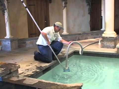 Think about cleaning your pool as you think of cleaning a bathtub - sure, no one wants to do it, but who wants to put their body in it unless it's sparkling? Learn how to thoroughly clean a pool, and then get to work!