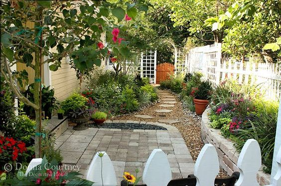 Small Space Gardening Kitchen Courtyard Before After
