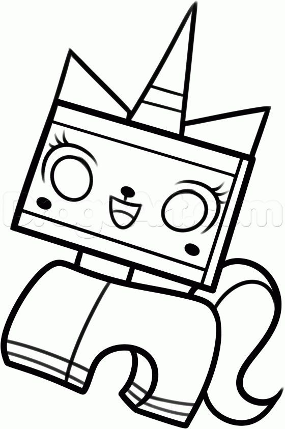 Kitty Lego The Movie Lego Coloring Pages Lego Movie Coloring Pages Lego Coloring