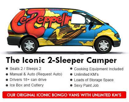 Cheap Campervan 4WD 4x4 Hire Rental Sale New Zealand