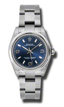Rolex - Oyster Perpetual No-Date Mid-Size - 31mm - Domed Bezel # 177200BLAIO