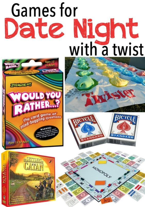 Games for date night with a twist