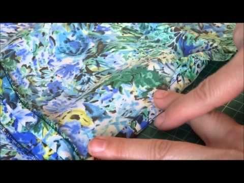 yo elijo coser: Videoturial: truco para hacer un dobladillo curvo sin arrugas