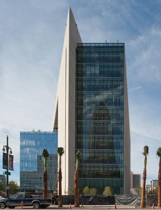 Los Angeles Police Department Headquarters In Los Angeles