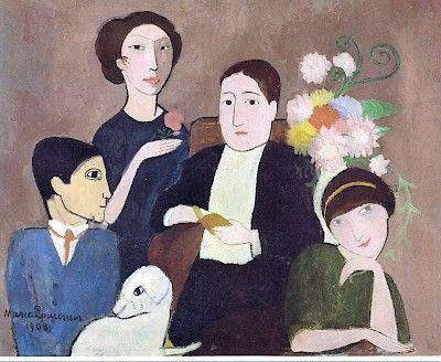 Marie Laurencin, 1883 - 1956 | Cubism | Trivium Art History