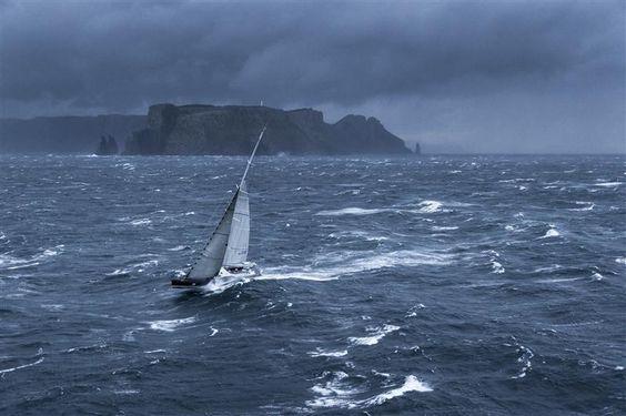 Branlée en mer de Tasmanie sur la Sydney Hobart