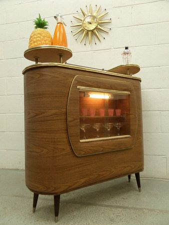 1960s retro cocktail bar on eBay