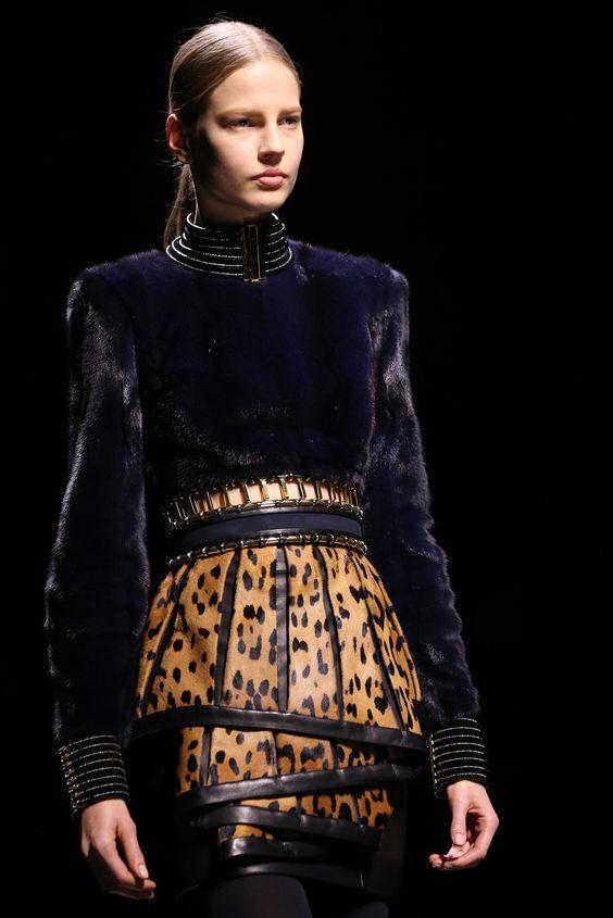 Balmain Fall 2014 Ready-to-Wear Collection Photos - Vogue