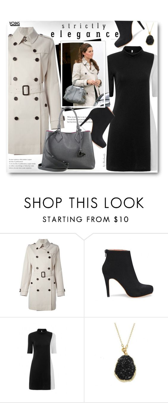 Untitled #1057 by beebeely-look on Polyvore featuring Burberry, Diane Von Furstenberg, women's clothing, women's fashion, women, female, woman, misses and juniors