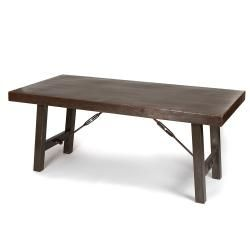 Iron dining table india maybe someday industrial and for Really cool dining tables