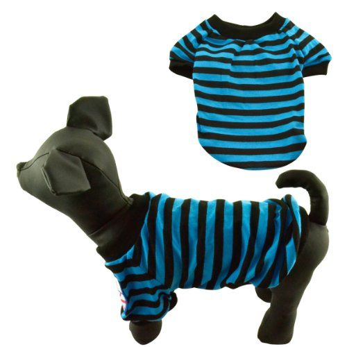 Dogloveit Classic Pet Puppy Cat Dog Clothes Stripe Style Casual Dog Shirt Cool Summer Clothes for Puppy and Small Dog Cat Dog Shirt http://www.amazon.com/dp/B00ISRRS5W/ref=cm_sw_r_pi_dp_NNcGvb0CJMSX6