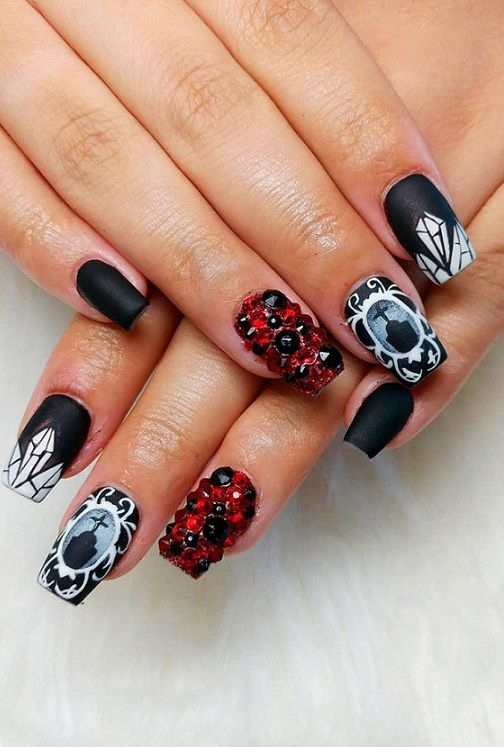 20 Best Halloween Nail Designs 2018 2019