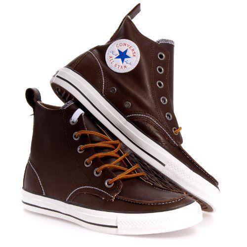 46a2e1db7a34 Finally CONVERSE CHUCK TAYLOR ALL STAR BLACK Converse Chuck Taylor Mens  Classic Boot Hi -Moc Toe I need this!
