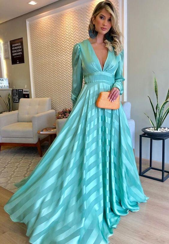 vestidos longos formais tendência