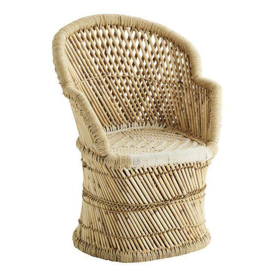 Bohemian stoelen bij fonQ   Stoelen, Bamboe stoelen, Rotan