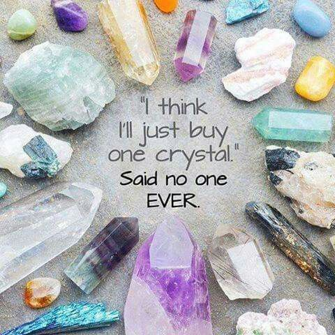 It S So Hard To Get Just One In 2020 Crystals Crystal Healing Stone Quotes