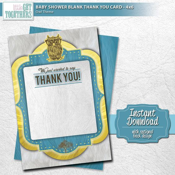 showers parties card designs baby showers design thank you cards diy