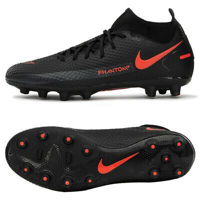 Nike Phantom Gt Academy Df Hg Football Shoes Soccer Cleats Black Da1917 060 In 2020 Football Shoes Cleats Soccer Cleats
