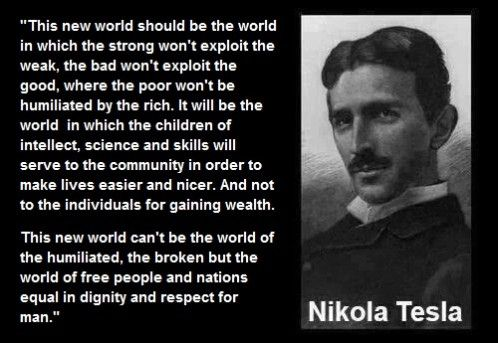 Quotes - The Nikola Tesla association | Genius for the future